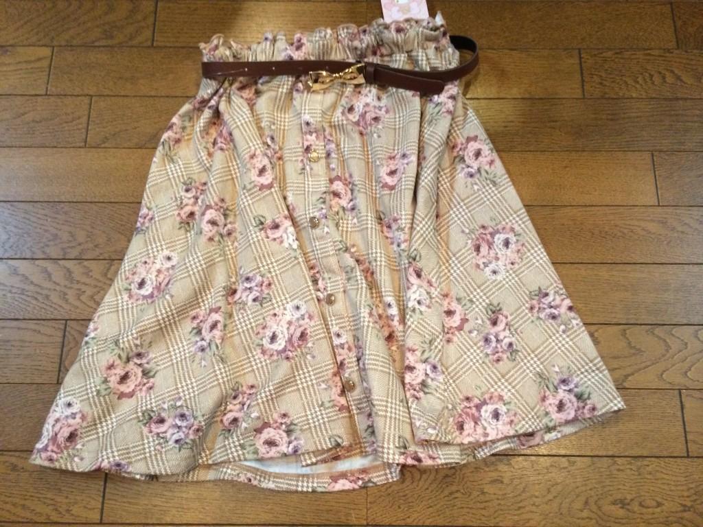 リズメロフレアスカート