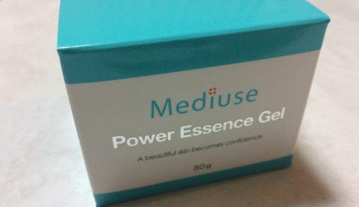 Mediuse パワーエッセンスゲルで肌再生ケア!