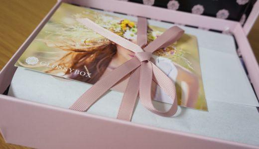 2015年3月のGLOSSY BOX。今月は「春の足音」