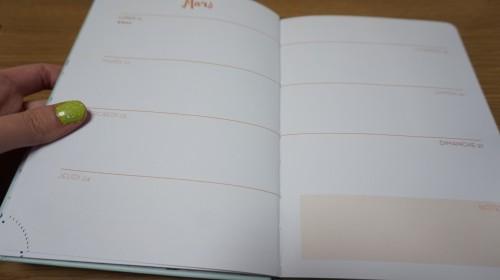 2016年の手帳の中身