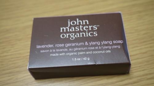LRG&YYソープ<ラベンダーローズゼラニウム&イランイラン> john masters organics(ジョンマスターオーガニック)