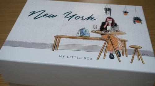ニューヨーク柄の箱
