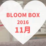 BLOOMBOX(ブルームボックス)2016年11月