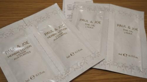 PAUL&JOE オイル、ハーバルローション