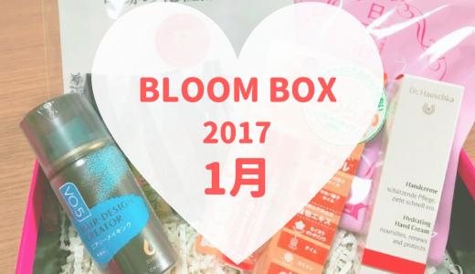 2017年1月のBLOOMBOX。バランスの良い素敵な内容でした♪