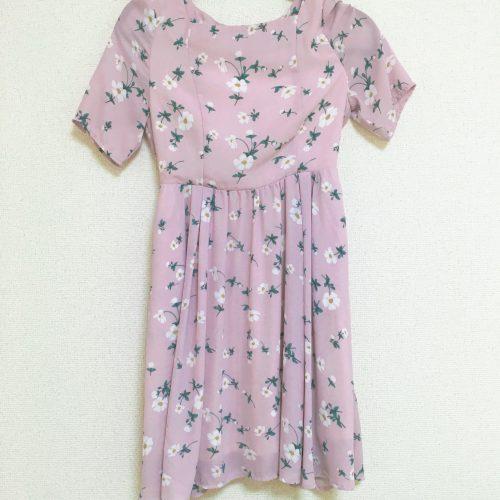 dazzlin ワンピース/ドレス(ピンク、紫)