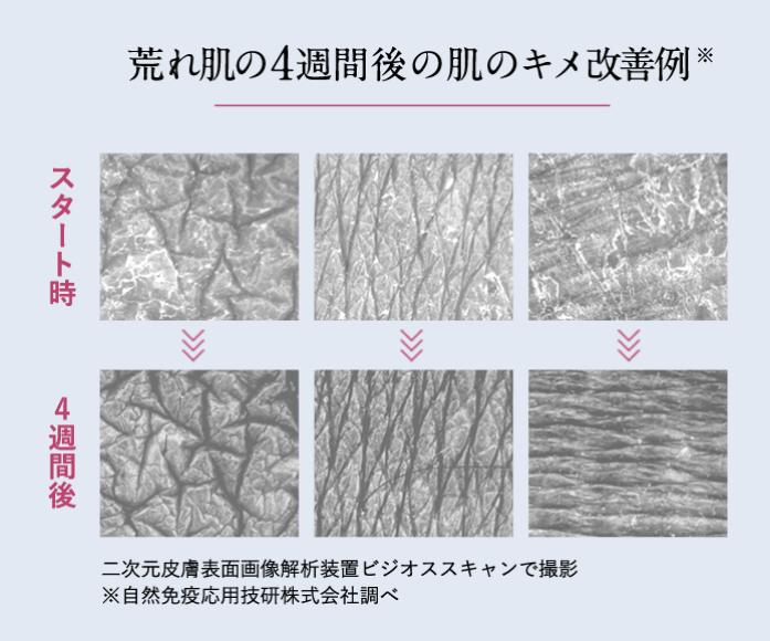 フィトリフトのパントエアアグロメランス培養溶解質エキスの試験結果