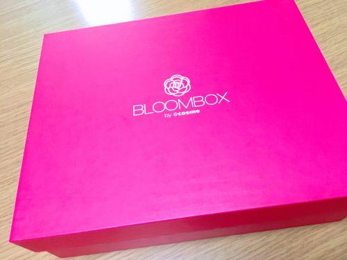 2017年8月のBLOOMBOXの箱