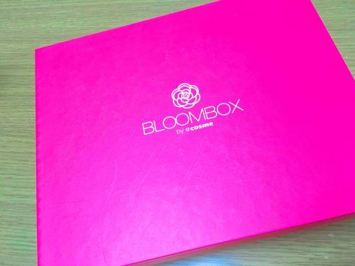 2017年9月のBLOOMBOXの箱