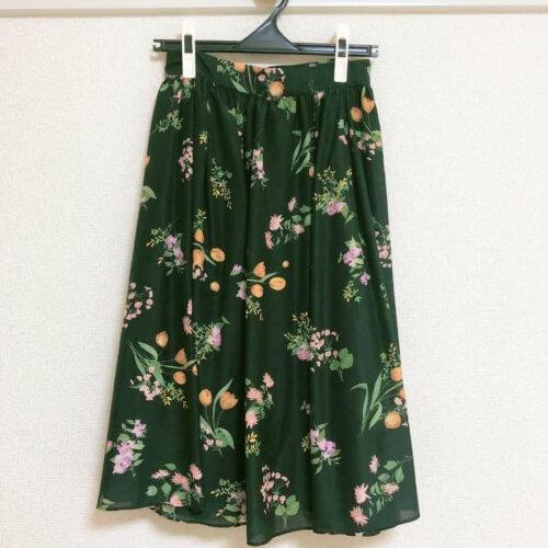 LAISSE PASSE 小花柄スカート