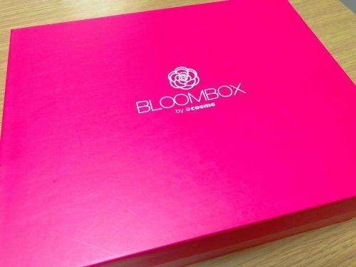 2018年3月のBLOOMBOXが届きました。