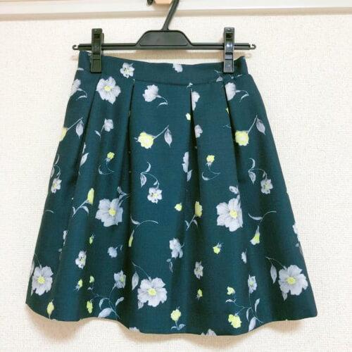 MIIA 花柄スカート