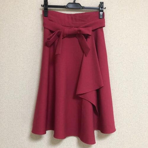 Swingle ベリーピンクスカート