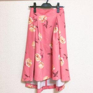 titty&Co. 花柄ピンクスカート