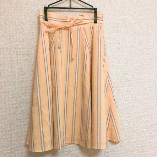 PROPORTION BODY DRESSING イエローストライプスカート