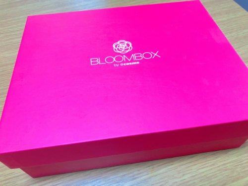 2018年8月のBLOOMBOXの箱