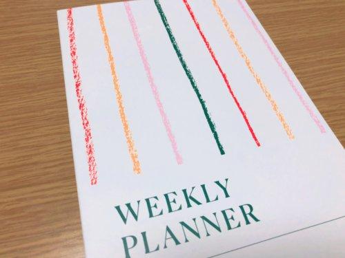 WEEKLY PLANNER(スケジュール帳)