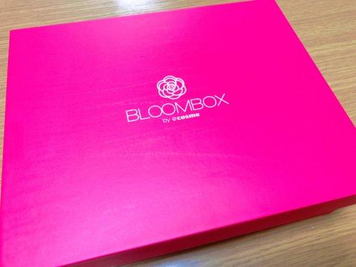 2018年11月のBLOOMBOXの箱