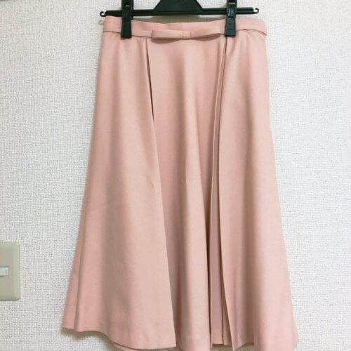 STRAWBERRY-FIELDS ピンクベージュスカート