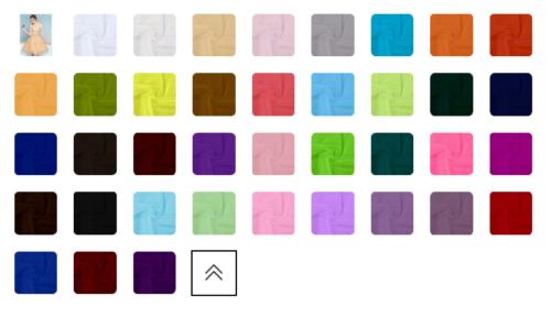 タイドバイのカラー表