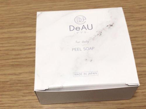 DeAU ピールソープ