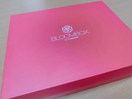 2019年9月のBLOOMBOXの箱