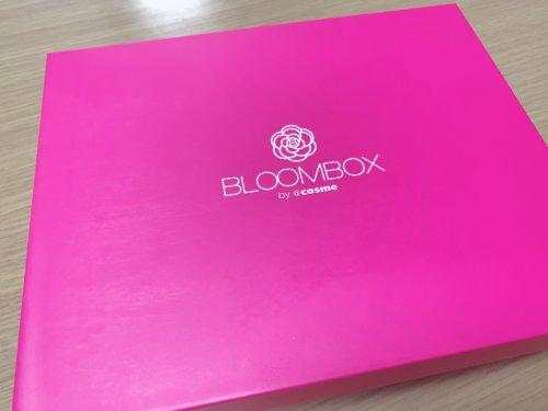 2019年11月のBLOOMBOXが届きました。