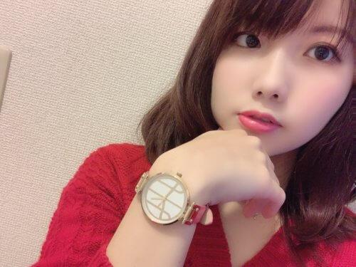 Tsugumi Pinkの着用