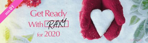 2020年1月のRAXY
