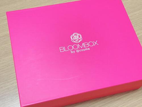 3月のBLOOMBOXの箱