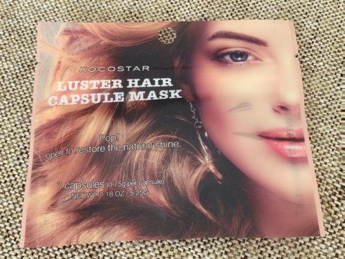 LUSTER HAIR CAPSULE MASK