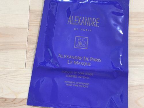 アレクサンドル ドゥ パリ ル マスク