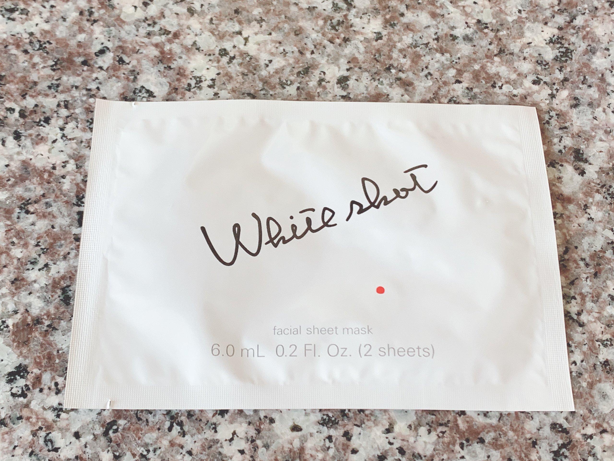 ホワイトショット QXSの袋